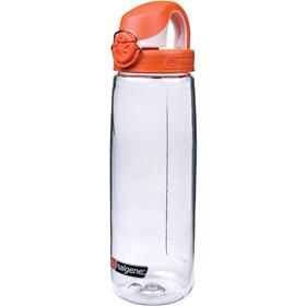 Nalgene Flaska OTF 0,7l Tritan Clear/Orange